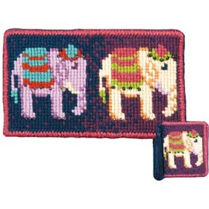 Animal Fayre Designs Elephant Trail Tapestry Kit