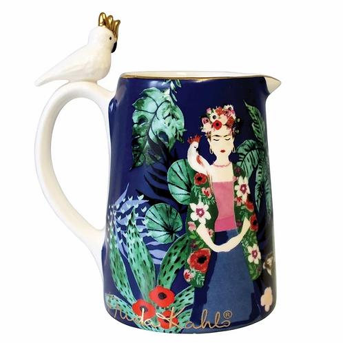 Beautiful Frida Kahlo Tropical Jug,Frida Kahlo Gift