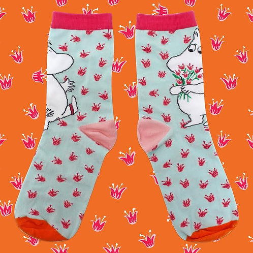 Moomin and Snorkmaiden Bouquet Socks, Gift