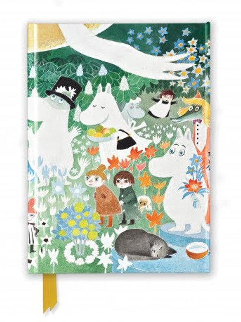 Moomin Dangerous Journey Foiled Pocket Notebook, Moomins Gift