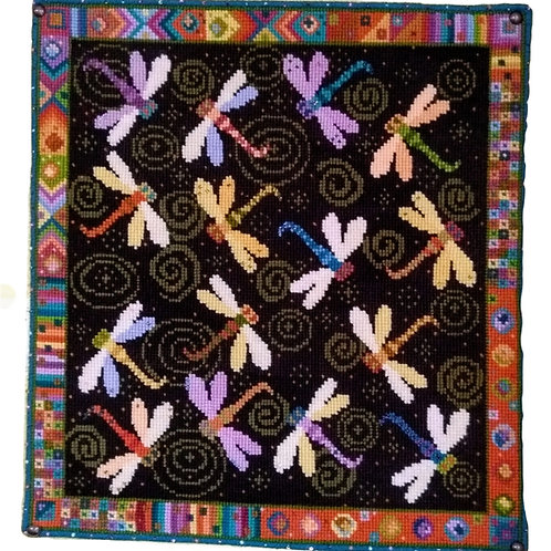 Animal Fayre Dragonfly Dance Tapestry Kit