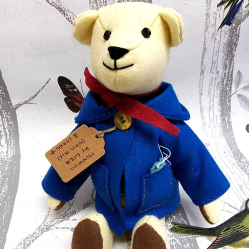 Vanilla the Polar Bear, The Lockdown Bears Handmade by Liza