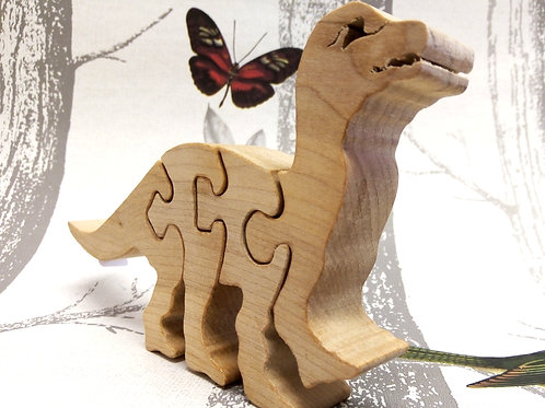 Four Piece Dinosaur Wooden Puzzle