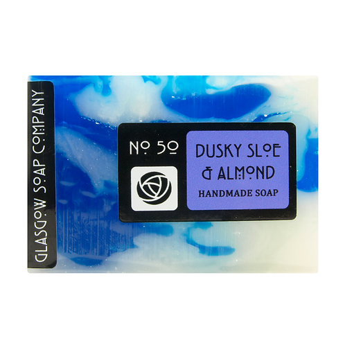 Dusky Sloe and Almond Soap, Glasgow Soap Company, Handmade Soap