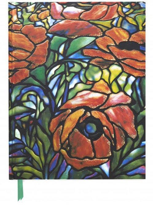 Tiffany: Oriental Poppy (Blank Sketch Book)