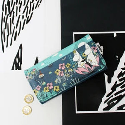 Moomin Lotus Wallet and Purse, Gift, House of Disaster