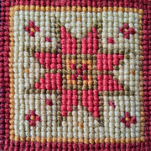 Red Star Tapestry Mini-kit, Red Star Tapestry Pincushion Kit, Gift