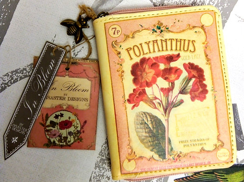 Polyanthus Wallet and Card Holder, House of Disaster,