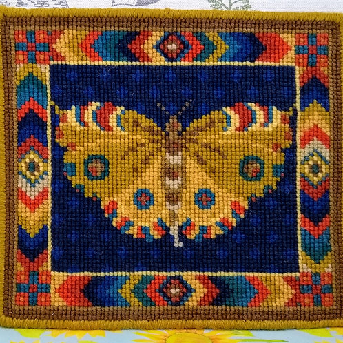 Animal Fayre Designs Yellow Butterfly Tapestry Kit