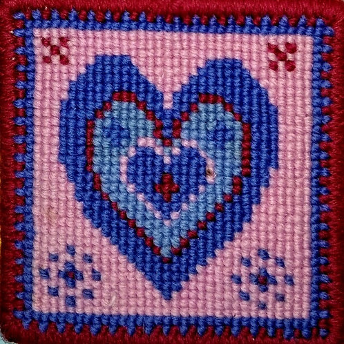 Animal Fayre Designs Heart Tapestry Kit Hanging