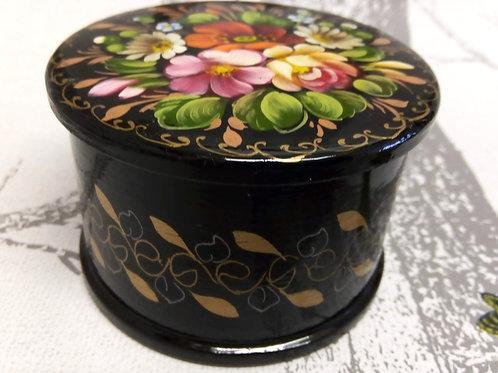 Black Khostovo Trinket Box