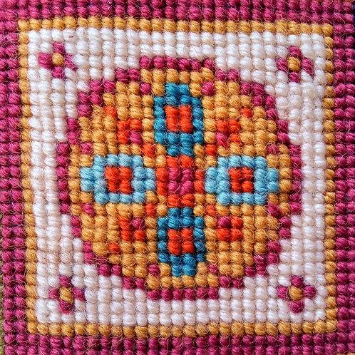 Medallion Tapestry Mini-kit, Medallion Tapestry Pincushion Kit