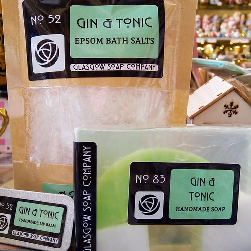 Gin and Tonic Gift Set, Glasgow Soap Company