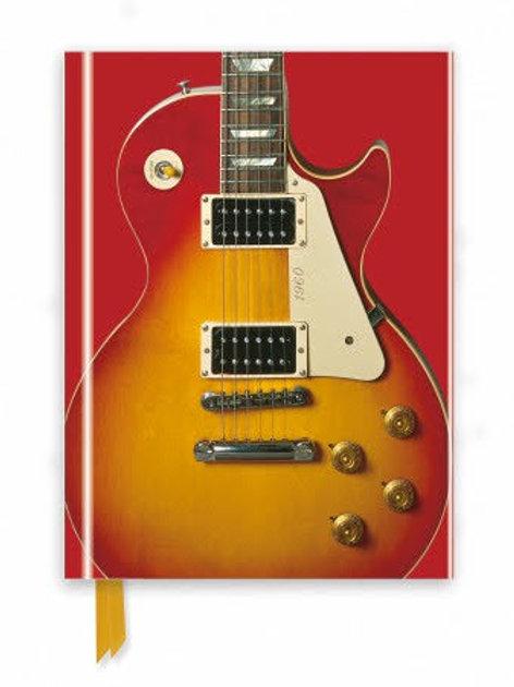 Gibson Les Paul Guitar, Sunburst Red (Foiled Journal)