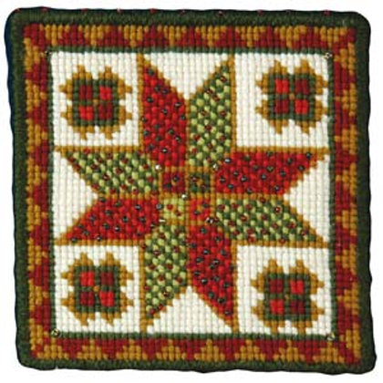 Animal Fayre Designs Christmas Star Tapestry Kit