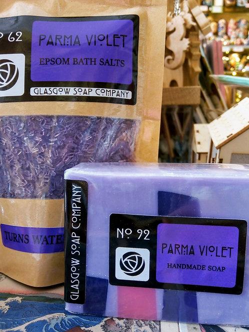 Parma Violet Gift Set, Glasgow Soap Company