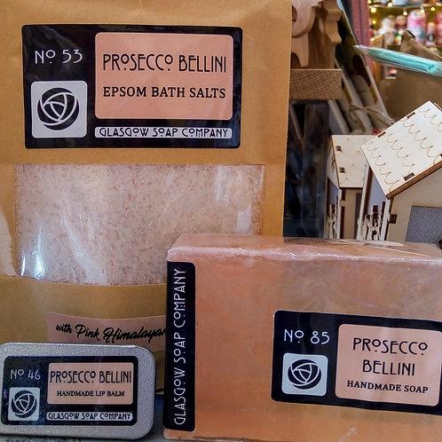 Prosecco Bellini Gift Set, Glasgow Soap Company