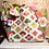 Thumbnail: Sage Green and Ivory Japanese Fabric Rice Bag