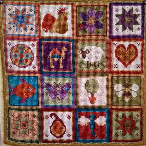 Animal Fayre Designs Little Patchwork Tapestry Kit