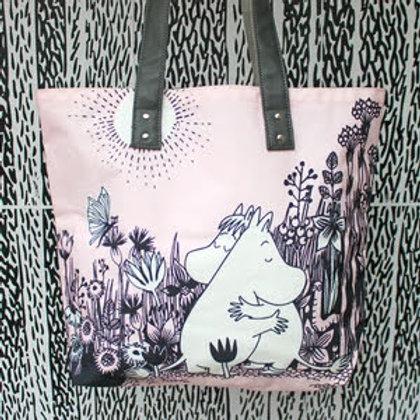 Pink Moomin Love Shopper, Large Pink Moomin Shopper, Gift