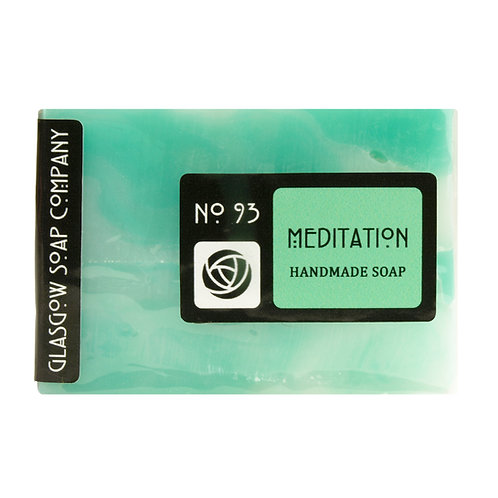 Meditation Soap, Glasgow Soap Company, Handmade Soap