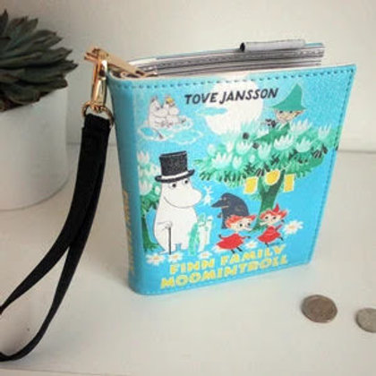 Moomin Family Book Wallet, Small Moomin Clutch Bag, Gift, House of Disaster
