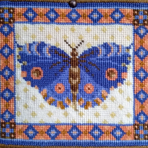 Animal Fayre Designs Blue Butterfly Tapestry Kit