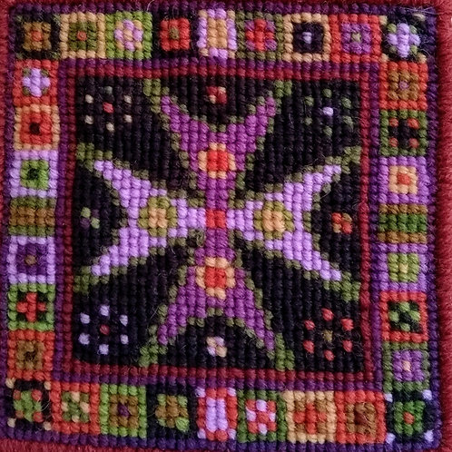 Maltese Cross Tapestry Cushion Kit, Maltese Cross Tapestry Picture, Hanging kit,