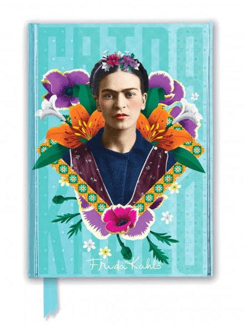 Frida Kahlo Blue Foiled Journal, Frida Kahlo Notebook