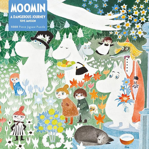 Moomin Adult Jigsaw Puzzle, 1000 Pieces The Dangerous Journey
