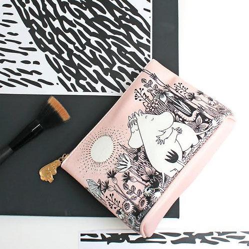 Moomin Love Make-up Bag, Pink Moomin Make-up Pouch, Gift