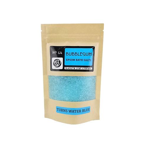 Bubblegum Blue Bath Salts, Glasgow Soap Company, Epsom Bath Salts