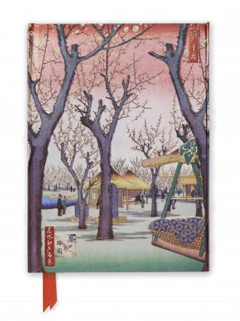 Hiroshige: Meguro (Foiled Pocket Journal), Ruled Notebook