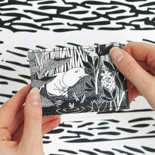 Moomin Midwinter Travel Pass or Card Holder, Moomin Gift
