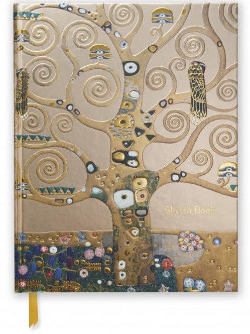 Gustav Klimt: Tree of Life (Blank Sketch Book)
