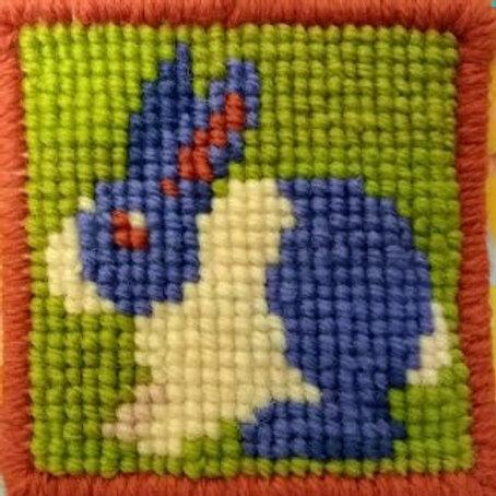 Tapestry Pincushion Mini-Kit, Two Pack of Mini-Kit Pictures or Pincushions