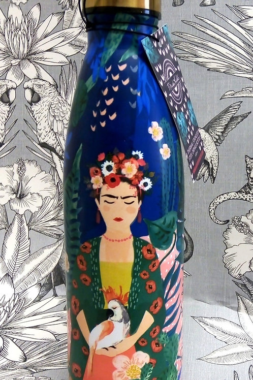 Frida Khalo Drinks Bottle in a Gift Box, House of Disaster