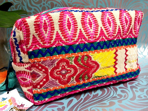 Embellished Box Pouch, Fiesta by House of Disaster,