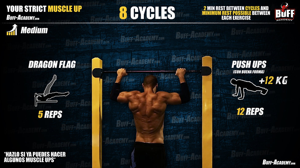 Muscle up Intermediate Routine Four