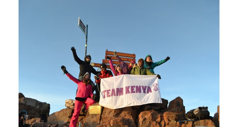 Marketing Officer Takes On Mount Kenya Challenge