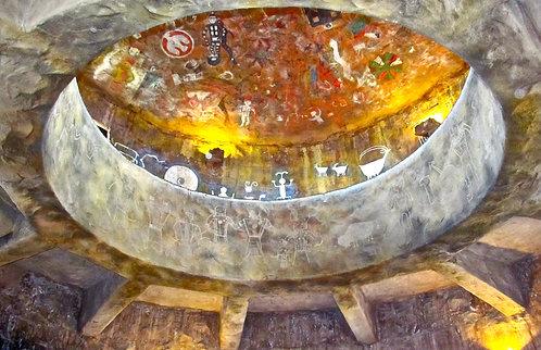 Desert View Watchtower Ceiling