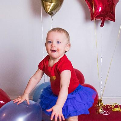Callie's First Birthday