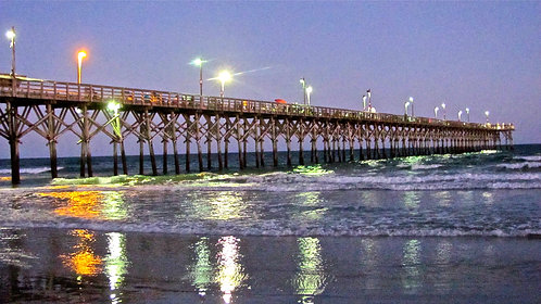 Surf City Pier at Day's End