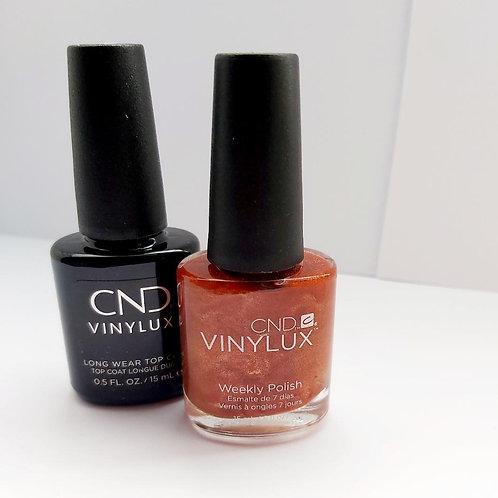 CND™ Vinylux™ Fine Vermillion &  Long Wear Top Coat