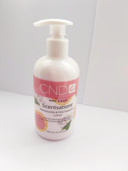 CND Scentsations Honeysuckle & Pink GrapefruitLotion 245ml