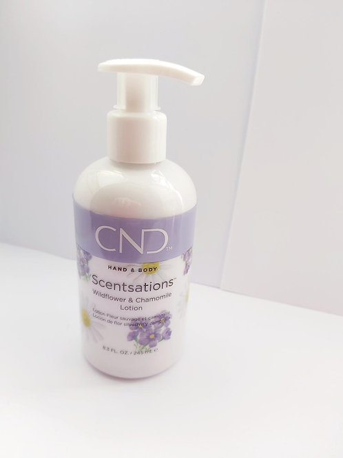 CND Scensations Wildflower & Chamomile Hand & Body Lotion 245ml
