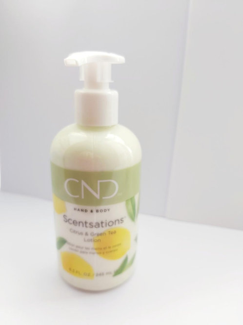 CND Scentsations Citrus & Green Tree  Hand & Body Lotion 245ml