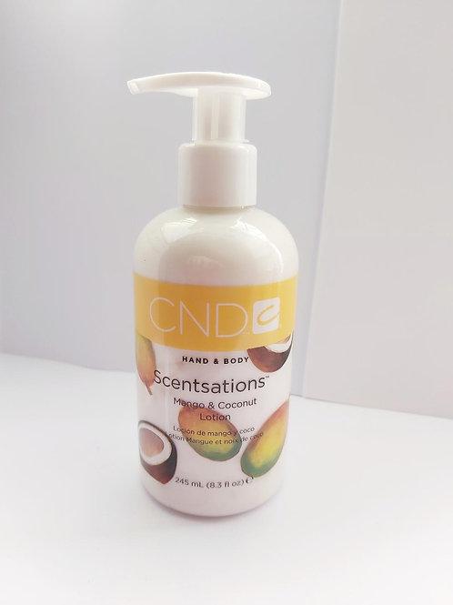 CND Scentsations Mango & CoconutLotion 245ml