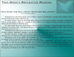 New Gresham Relective Readings 071716