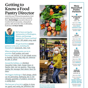 Comfort Food Community Featured in Hannaford Fresh